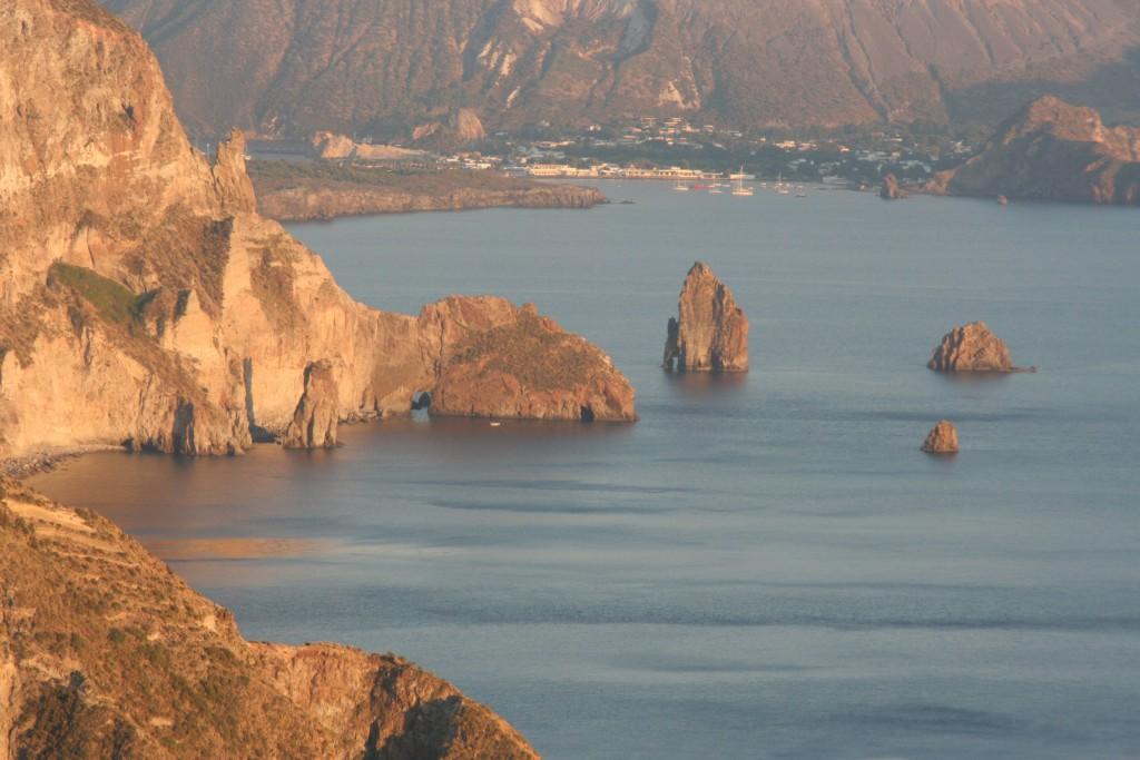Lipari. Vista da Quattrocchi.